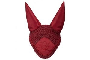 LeMieux Unisex's Signature Fly Hood, Burgundy, Medium