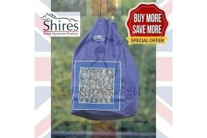 SALE Shires Horse Hay Bag Deluxe | Tough Haynet | Diet & Weight Control | Stable