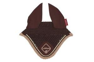 LeMieux Classic Fly Hood Brown/Beige