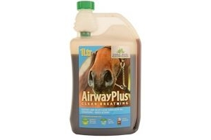 Global Herbs Unisex's Airway Plus, Clear, 1 Litre