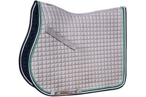 Schockemohle Neo Star Jump Saddle Pad Silver