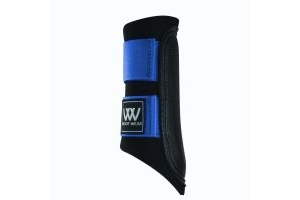 Woof Wear Club Brushing Boots Electric Blue