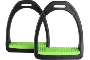 Shires Adults Compositi Premium Profile Stirrups Light Green