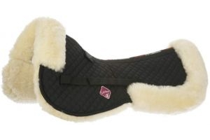 LeMieux ProLambskin Half Pad Natural/Black