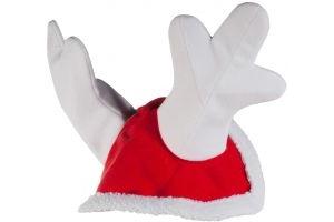 Horze Christmas Reindeer Cap Red