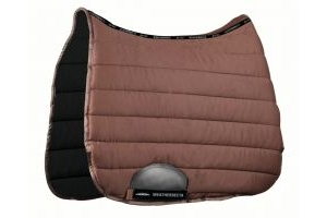WeatherBeeta Ambition Dressage Saddle Pad Chocolate