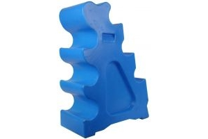 Classic Showjumps Sloping Jump Block Blue