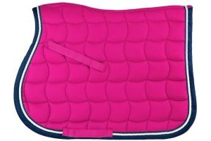 Whitaker Upton Saddle Pad Fuschia