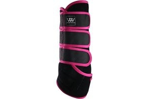 Woof Wear Dressage Wraps Berry - Lightweight Breathable - Here's a clever idea from leading protection boot experts