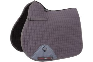 LeMieux ProSport GP/Jump Square Saddle Pad Grey