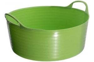 Tubtrugs Flexible Shallow Bucket Pistachio Green