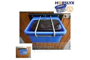 Horslyx 5kg Lick Holder | Wall Mounted Horse Treat Storage Stable Horsebox Field