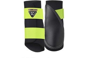 equilibrium Tri-Zone Brushing Boot X Large Fluorescent Black