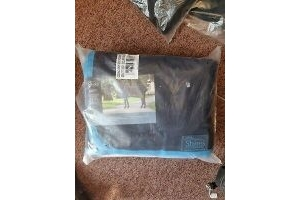 BRAND NEW - Shires Jersey Cooler Combo 7' Navy and Blue, Travel, Stable, fleece