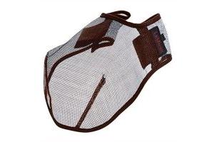 LeMieux Comfort Shield Filter Nose Net - Brown, Small