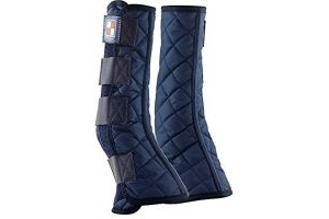 Equilibrium Equi-Chaps Stable Horse Chaps (Medium) (Navy)