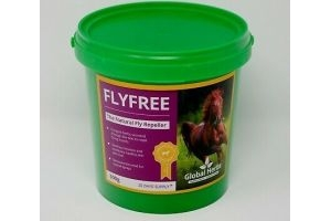 GLOBAL HERBS FLYFREE 500G HORSE SUPPLEMENT