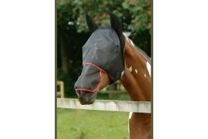Equilibrium Field Relief Max Fly Mask Full Face Nose Ears X Full Extra Large XL