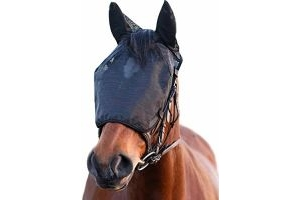 Equilibrium Net Relief Riding Mask - Black: Small