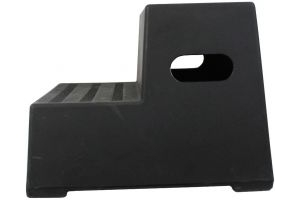 Classic Showjumps Premium 2 Step Mounting Block Black