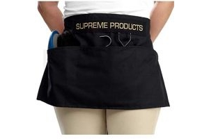 Supreme Products Grooming Apron (Half) (Black)