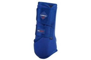 LeMieux ProSport Support Boots - Benetton Blue, Medium