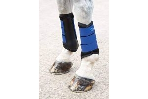 Shires Arma Air Motion Brushing Boots in Royal Blue, Horse Boots EXTRA Fulll, Royal