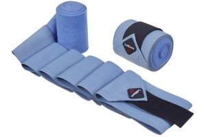 LeMieux Combi Bandages 2 Pack Corn Blue