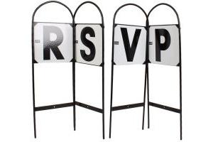 Battles Dressage Markers Set of 4 RSVP