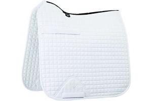 LeMieux ProSport Dressage Square (Standard Strap) - White, Large