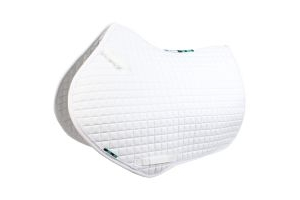 Griffin Nuumed High Wither Close Contact Saddle Pad White