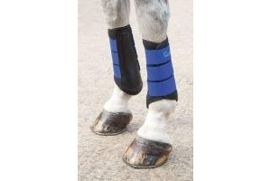 Shires Arma Neoprene Brushing Boots in Royal Blue EXTRA Fulll, Royblu
