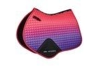 WeatherBeeta Prime Ombre Jump Shaped Saddle Pad - Desert Sky - Full