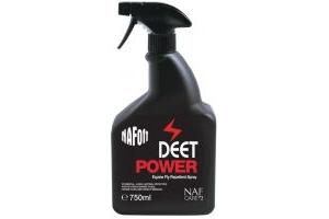 Naf Off Deet Power Performance Fly Spray (BLACK BOTTLE): 750ml