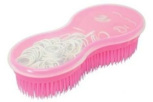 Lincoln Ultimate Brush with Plaiting Kit (One Size) (Pink/White)