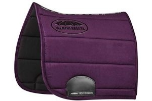 Weatherbeeta Elite Dressage Saddle Pad Full Size Purple Penant