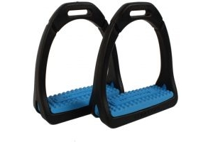 Shires Adults Compositi Premium Profile Stirrups Light Blue