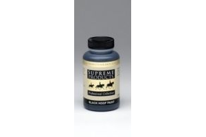 Supreme Products - Professional Horse Hoof Paint Black x 236 Ml