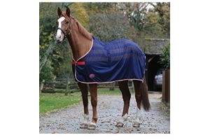 Weatherbeeta Scrim Cooler Standard Neck Navy Red White - Breathable - Or first thing in the morning, before the heat builds