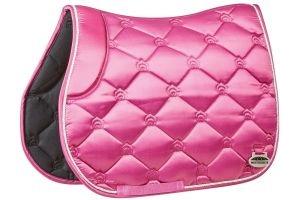 WeatherBeeta Regal Luxe All Purpose Saddle Pad Rose Queen