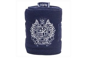 HV Polo Favouritas Fleece Bandages (Set Of 4): Navy Blue