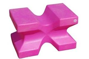 Classic Showjumps Unisex's Pink Classic Pro-Jump Showjumps X-Block, Regular