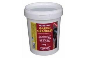 EQUIMINS GARLIC GRANULES - 500 GM TUB - EQS0285