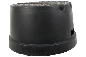 Classic Showjumps Standard 1 Step Mounting Block Black