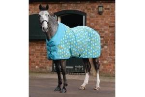 WeatherBeeta Fleece Cooler Standard Neck Rug Duck/Daisy Print
