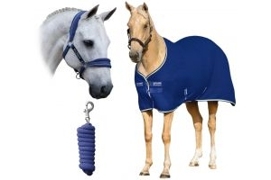 Horseware Rambo Horse Cooler Bundle Royal Blue