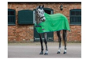 Weatherbeeta Scrim Cooler Standard Neck Rug (5 ft 9) (Bright Green/Blue/Cerise)