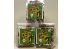 Uncle Jimmy's - Squeezy Buns x 65 Pack