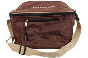 Dublin Imperial Hat Bag Chocolate/Cream