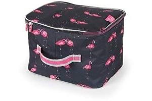 Shires Hat Bag - Ltd Edition Flamingo Print